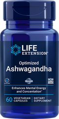 Ашвагандха Ashwagandha Life Extension екстракт 60 капсул