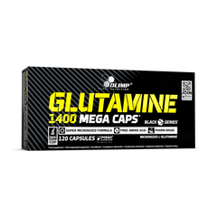 L-глютамін Glutamine 1400 Mega Caps Olimp Nutrition 120 капсул