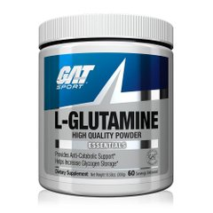 L-глютамин L-Glutamine Essentials GAT Sport 300 г