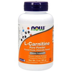 Фотография - L- Карнітин L-Carnitine Now Foods порошок 85 г