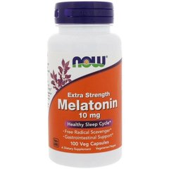 Фотография - Мелатонін Melatonin Now Foods 10 мг 100 капсул