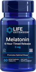 Фотография - Мелатонін Melatonin Life Extension 3 мг 60 таблеток