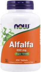 Альфальфа (Люцерна) Alfalfa Now Foods 650 мг 250 таблеток