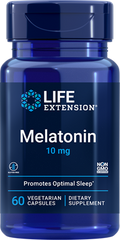 Фотография - Мелатонін Melatonin Life Extension 10 мг 60 капсул