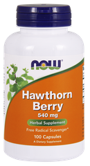 Глід Hawthorn Berry Now Foods 540 мг 100 капсул