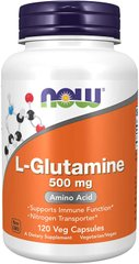 L-Глютамін L-Glutamine Now Foods 500 мг 120 капсул