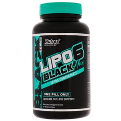Фотография - Жироспалювач Lipo-6 Black Hers Ultra Concentrate Nutrex Research 60 капсул