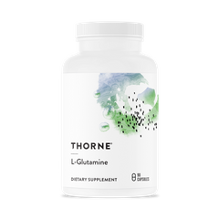 L- глютамін L-Glutamine Thorne Research 90 капсул